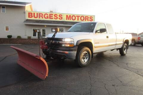 2001 Chevrolet Silverado 2500HD for sale at Burgess Motors Inc in Michigan City IN