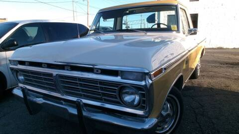 1973 Ford F-100 for sale at IMPORT MOTORSPORTS in Hickory NC