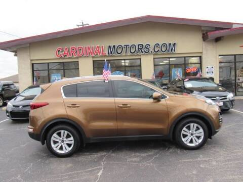 2017 Kia Sportage for sale at Cardinal Motors in Fairfield OH
