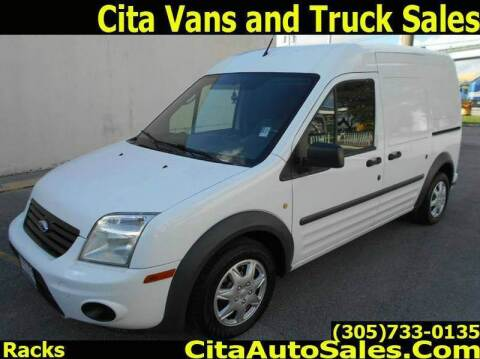 2011 Ford Transit Connect for sale at Cita Auto Sales in Medley FL