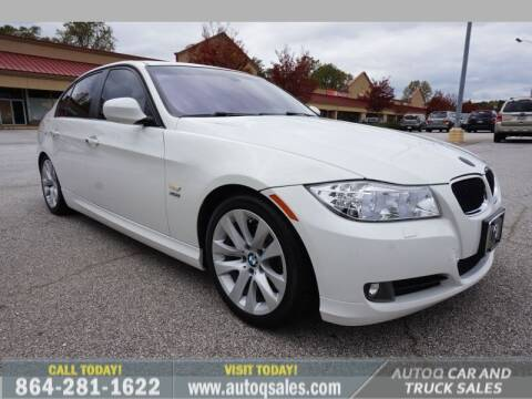 2011 BMW 3 Series for sale at Auto Q Car and Truck Sales in Mauldin SC
