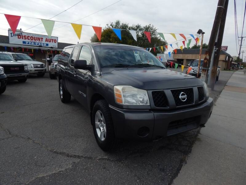 2006 Nissan Titan for sale at Dave's discount auto sales Inc in Clearfield UT