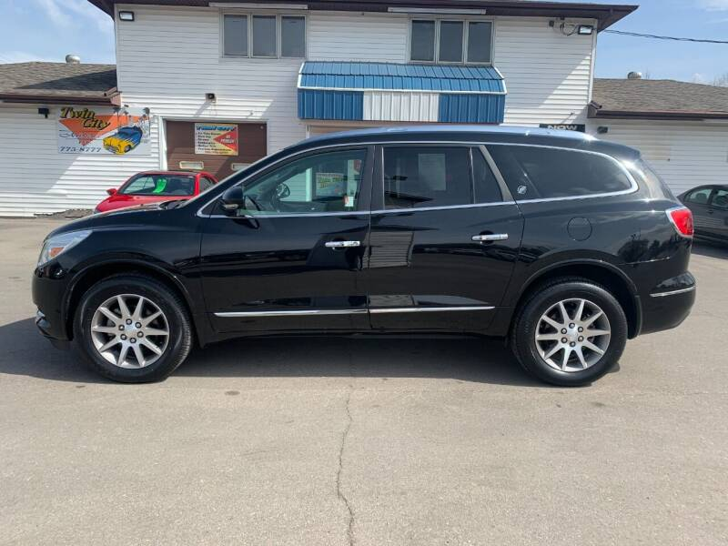 2017 Buick Enclave for sale at Twin City Motors in Grand Forks ND
