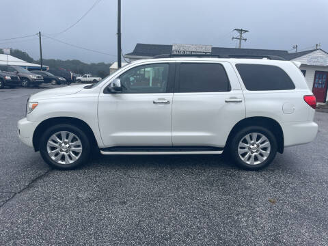 2012 Toyota Sequoia for sale at TAVERN MOTORS in Laurens SC
