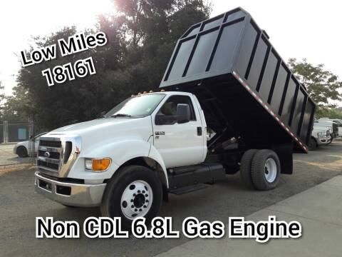 2012 Ford F-650 for sale at DOABA Motors in San Jose CA