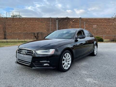 2013 Audi A4 for sale at RoadLink Auto Sales in Greensboro NC
