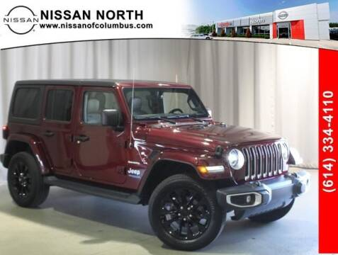 2021 Jeep Wrangler 4xe for sale at Auto Center of Columbus in Columbus OH