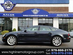 2012 Audi A7 for sale at Highline Group Motorsports in Lowell MA