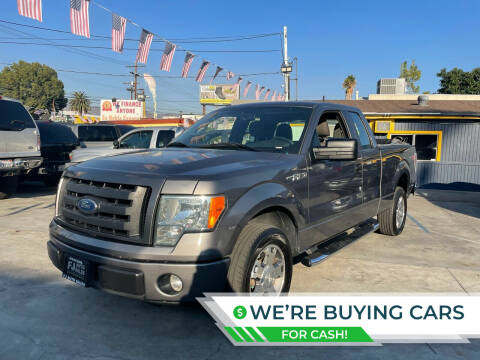 2010 Ford F-150 for sale at FJ Auto Sales North Hollywood in North Hollywood CA