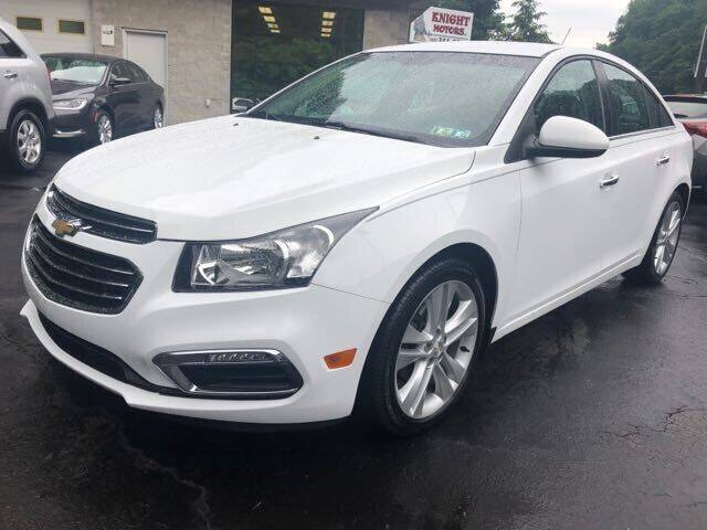 2016 Chevrolet Cruze Limited for sale in Pittsburgh, PA