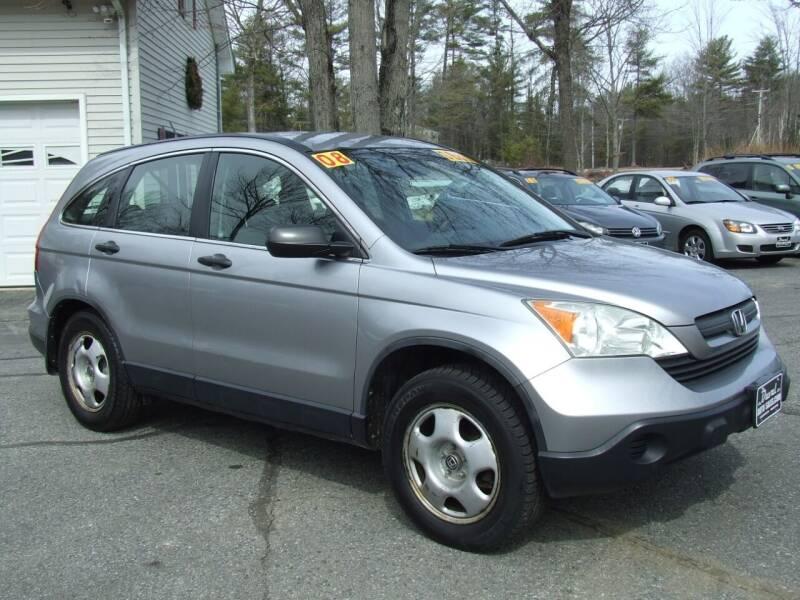 2008 Honda CR-V for sale at DUVAL AUTO SALES in Turner ME