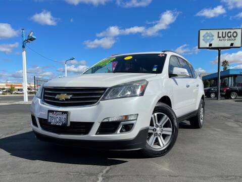 2016 Chevrolet Traverse for sale at LUGO AUTO GROUP in Sacramento CA