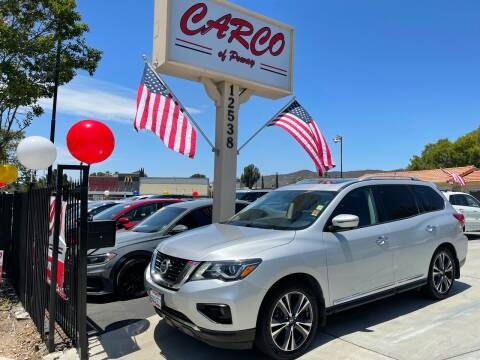 2017 Nissan Pathfinder for sale at CARCO SALES & FINANCE - CARCO OF POWAY in Poway CA
