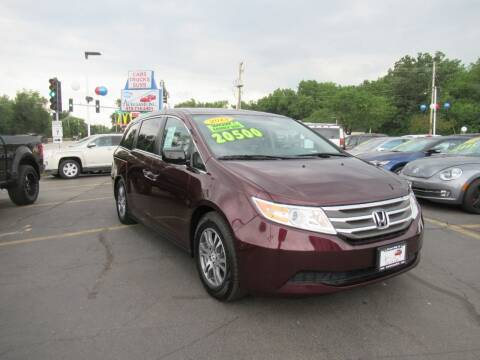 2013 Honda Odyssey for sale at Auto Land Inc in Crest Hill IL