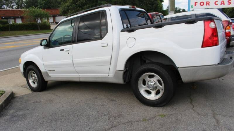 2002 Ford Explorer Sport Trac for sale at NORCROSS MOTORSPORTS in Norcross GA