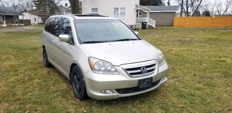 2007 Honda Odyssey for sale at Cleveland Avenue Autoworks in Columbus OH