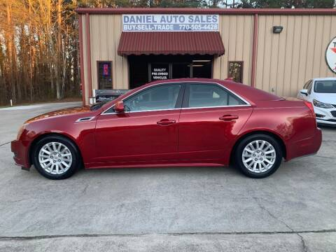2013 Cadillac CTS for sale at Daniel Used Auto Sales in Dallas GA