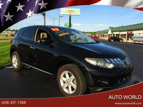 2010 Nissan Murano for sale at Auto World in Carbondale IL