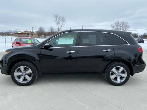 2012 Acura MDX for sale at The Auto Depot in Mount Morris MI