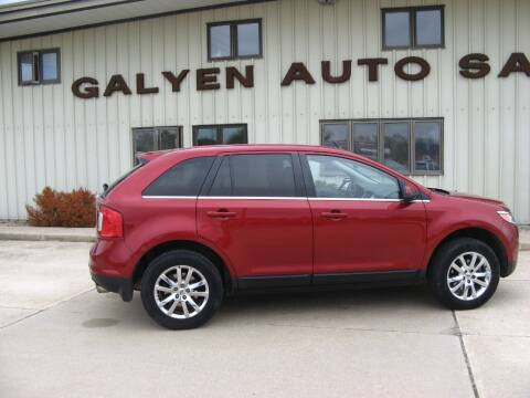 2013 Ford Edge for sale at Galyen Auto Sales Inc. in Atkinson NE