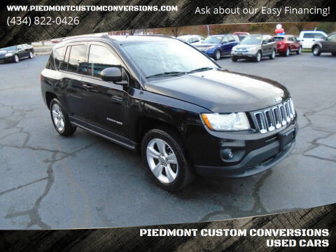 2012 Jeep Compass for sale at PIEDMONT CUSTOM CONVERSIONS USED CARS in Danville VA