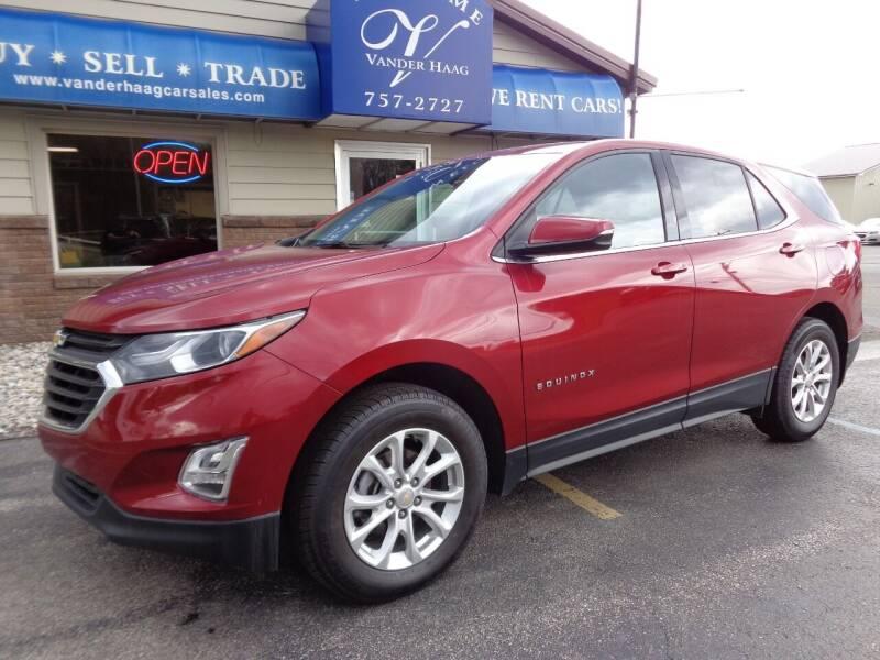 2018 Chevrolet Equinox for sale at VanderHaag Car Sales LLC in Scottville MI