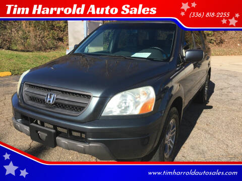 2005 Honda Pilot for sale at Tim Harrold Auto Sales in Wilkesboro NC