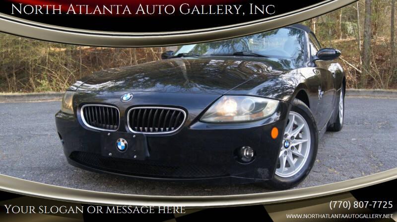2005 BMW Z4 for sale at North Atlanta Auto Gallery, Inc in Alpharetta GA
