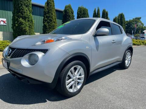 2011 Nissan JUKE for sale at AUTOTRACK INC in Mount Vernon WA