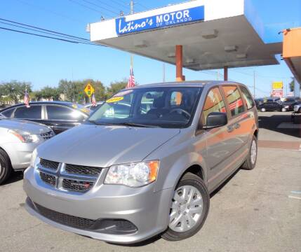 2015 Dodge Grand Caravan for sale at LATINOS MOTOR OF ORLANDO in Orlando FL