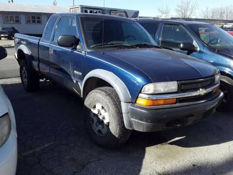 2002 Chevrolet S-10 for sale at New Start Motors LLC - Crawfordsville in Crawfordsville IN