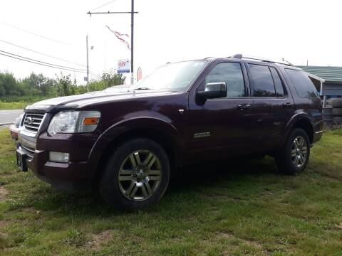 2008 Ford Explorer for sale at Classic Heaven Used Cars & Service in Brimfield MA