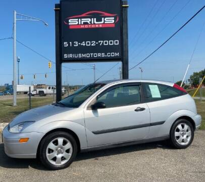 2002 Ford Focus for sale at SIRIUS MOTORS INC in Monroe OH