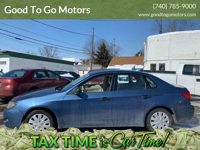 2008 Subaru Impreza for sale at Good To Go Motors in Lancaster OH