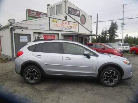 2015 Subaru XV Crosstrek for sale at G&R Auto Sales in Lynnwood WA