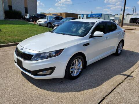 2013 Kia Optima for sale at DFW Autohaus in Dallas TX