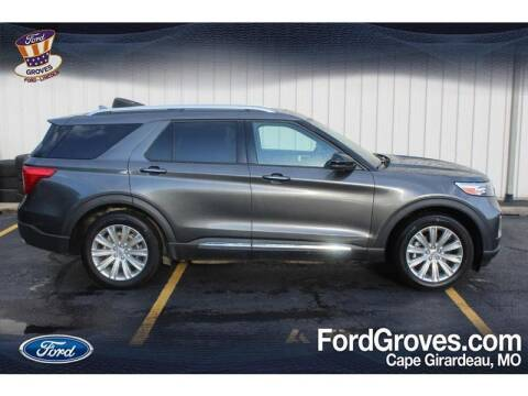 2020 Ford Explorer for sale at JACKSON FORD GROVES in Jackson MO
