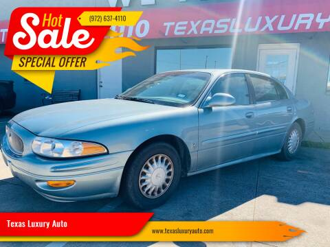 2003 Buick LeSabre for sale at Texas Luxury Auto in Cedar Hill TX