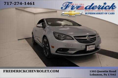2019 Buick Cascada for sale at Lancaster Pre-Owned in Lancaster PA