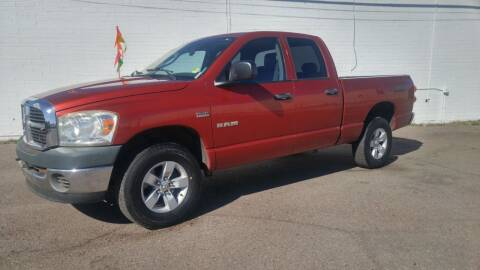 2008 Dodge Ram Pickup 1500 for sale at Advantage Motorsports Plus in Phoenix AZ
