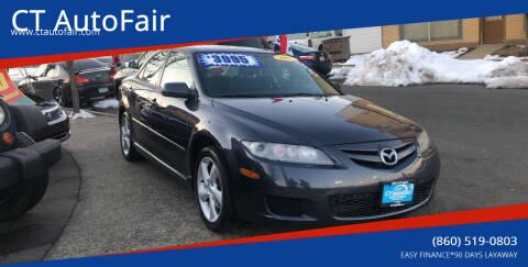 2007 Mazda MAZDA6 for sale at CT AutoFair in West Hartford CT