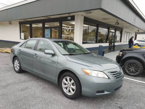 2007 Toyota Camry for sale at MacDonald Motor Sales in High Point NC