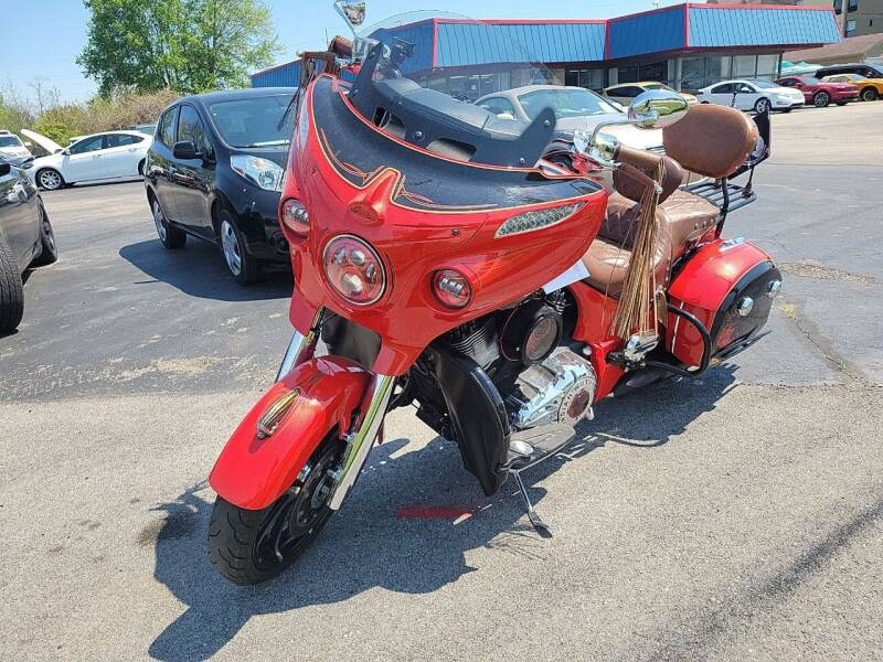 2017 Indian Chieftain Limited for sale at Cruisin' Auto Sales in Madison IN