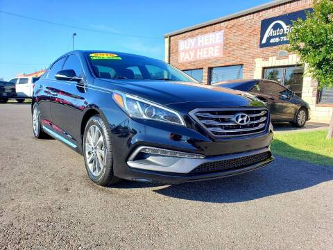 2016 Hyundai Sonata for sale at AUTO BARGAIN, INC. #2 in Oklahoma City OK