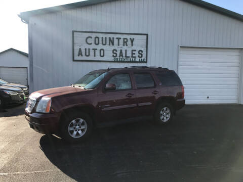2008 GMC Yukon for sale at COUNTRY AUTO SALES LLC in Greenville OH