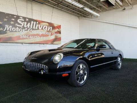 2002 Ford Thunderbird for sale at SULLIVAN MOTOR COMPANY INC. in Mesa AZ