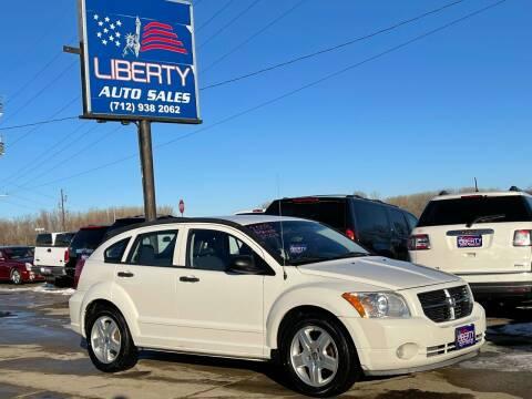 2008 Dodge Caliber for sale at Liberty Auto Sales in Merrill IA