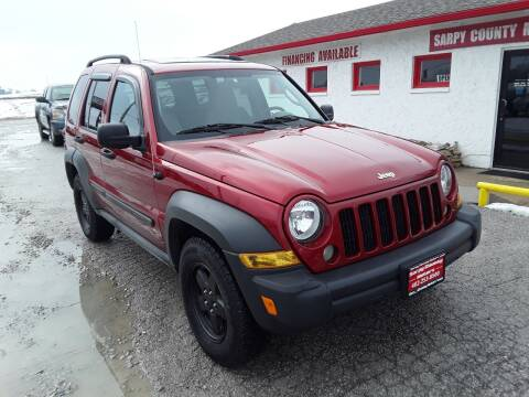 2006 Jeep Liberty for sale at Sarpy County Motors in Springfield NE