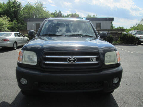 2004 Toyota Sequoia for sale at Olde Mill Motors in Angier NC