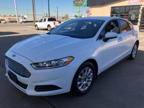 2016 Ford Fusion for sale at Auto Limits in Irving TX